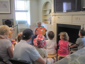 Storytime at Mount Vernon Hotel Museum and Garden